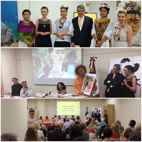 """Programa cultural   """"Frida Kahlo en Polonia 2017"""""""