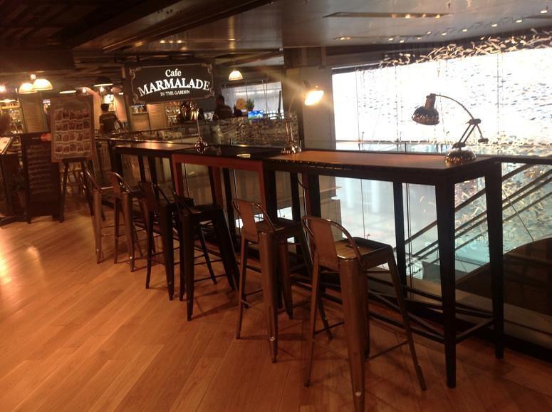 Mẫu ghế sắt Tolix dùng nơi quầy bar / beer club GHT 186