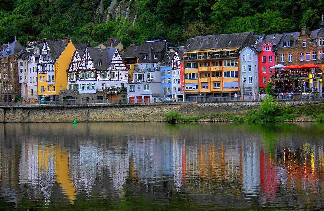 Cochem town on the Mosel Valley