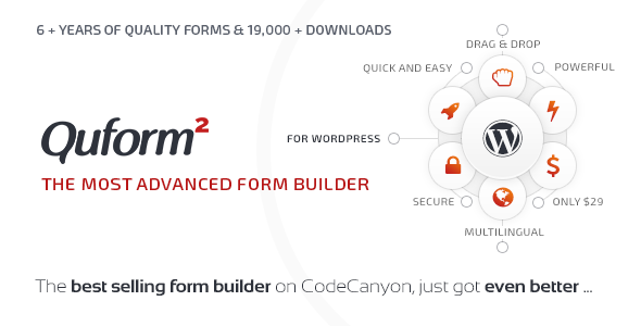Quform v2.0.1 WordPress Form Builder
