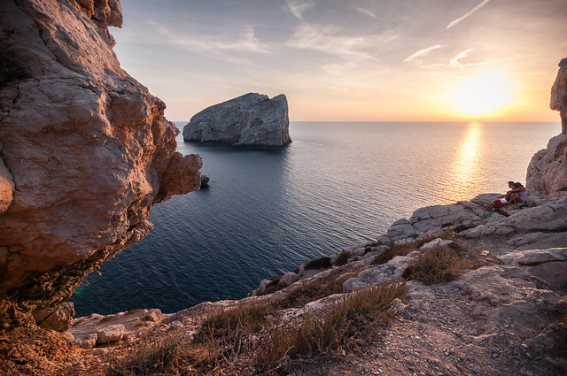 Sunset Capo Caccia