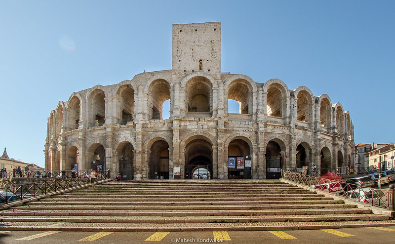 Arles Arena Amphitheater Wide