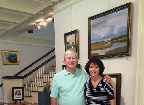 JoAnn and Jerry-Jeckyll Island Art Show-Housepitality Designs