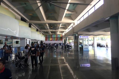 30 - Abflughalle / Departure hall - Flughafen / Airport Puerto Plata