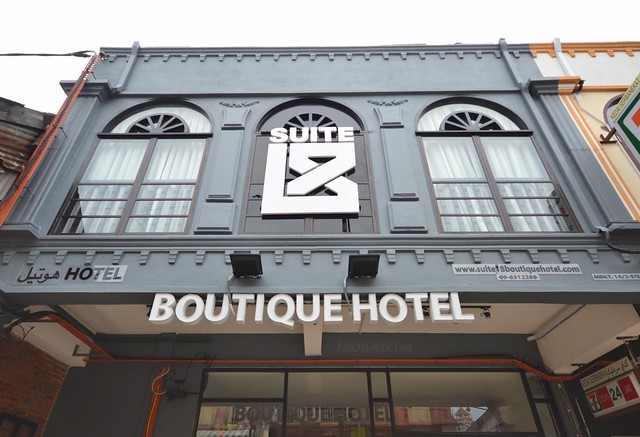suite 18 boutique hotel facade