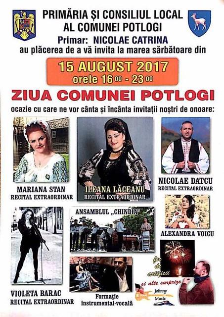 Cicloturism, muzică populară și discotecă pentru tineri, la Ziua Comunei Potlogi