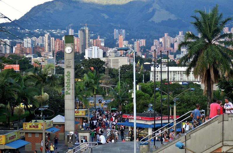 Medellín: Estación Poblado
