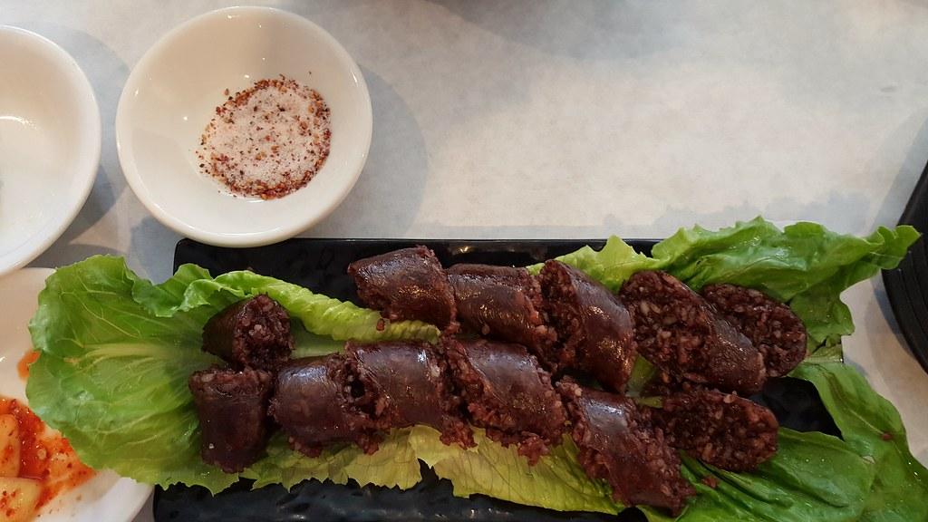 sundae - Korean sausage