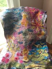 Felt Lap Blanket