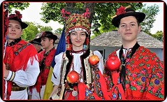 A traditional wedding ceremony from Transylvania