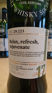 SMWS 29.223 - Relax, refresh, rejuvenate