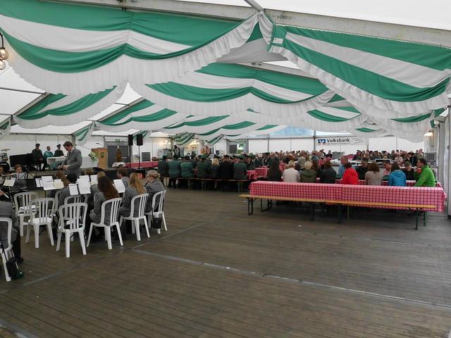 Schützenfest Sonntagmorgen 2017