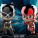 Hot Toys - COSB398 正義聯盟【蝙蝠俠&閃電俠(金屬配色版)】Justice League Batman & The Flash (Metallic Color Version) Cosbaby Series