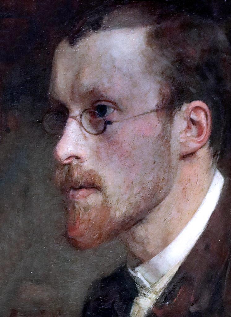 IMG_1853 Jan Veth. 1864-1925. Dordrecht Amsterdam.  Self portrait 1886 Dordrecht Museum