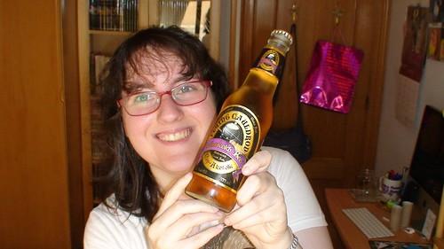 Hedwig y una cerveza de mantequilla