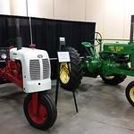 1948 B.F. Avery Tractor And 1936 John Deere B General Purpose Tractor.