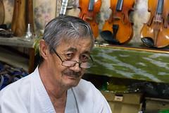 Violin and Uzbek traditional instrument maker.