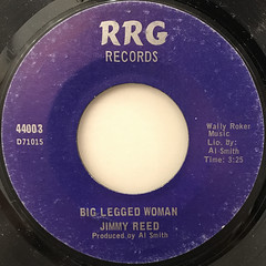 JIMMY REED:BIG LEGGED WOMAN(LABEL SIDE-A)