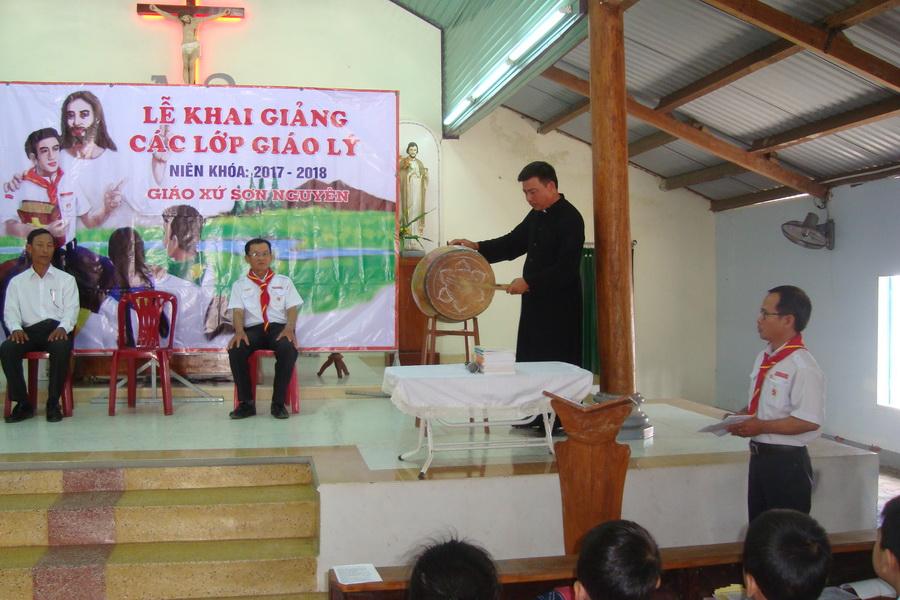 Giáo xứ Sơn Nguyên khai giảng niên khóa Giáo lý 2017-2018