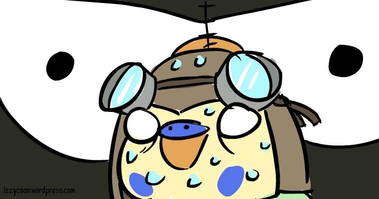 budgie danger bird puffin plushie