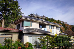 Rural house with garden in Tokyo, Japan