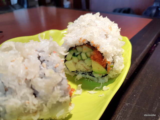 fuzzy looking Dynamite Roll