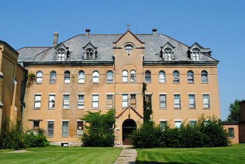 Former Salvatorian Seminary dormitory - St. Nazianz, Wisconsin