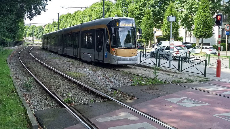 Brussels light rail/tram