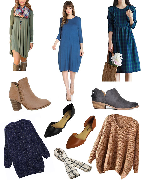 Fall Amazon Capsule Wardrobe Wishlist