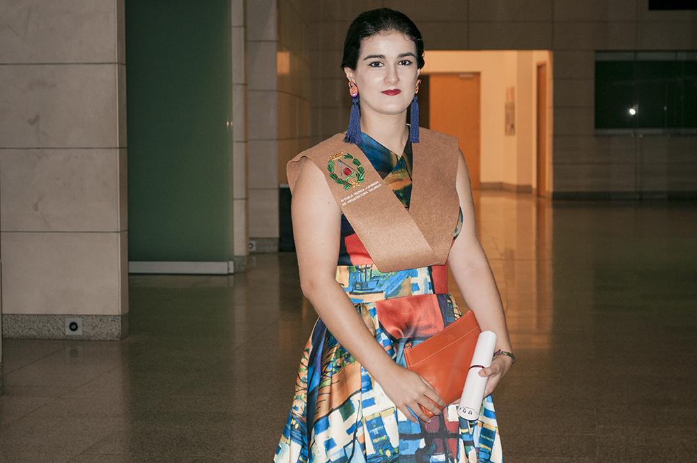 fashion blogger spain somethingfashion valencia graduation college ceremony outfit dress architecture4