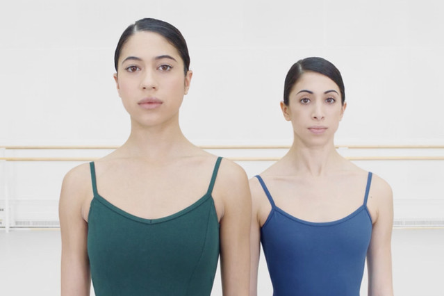 Screenshot from Duet: Beatriz Stix-Brunell and Yasmine Naghdi