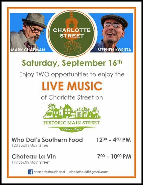 Charlotte Street 9-16-17