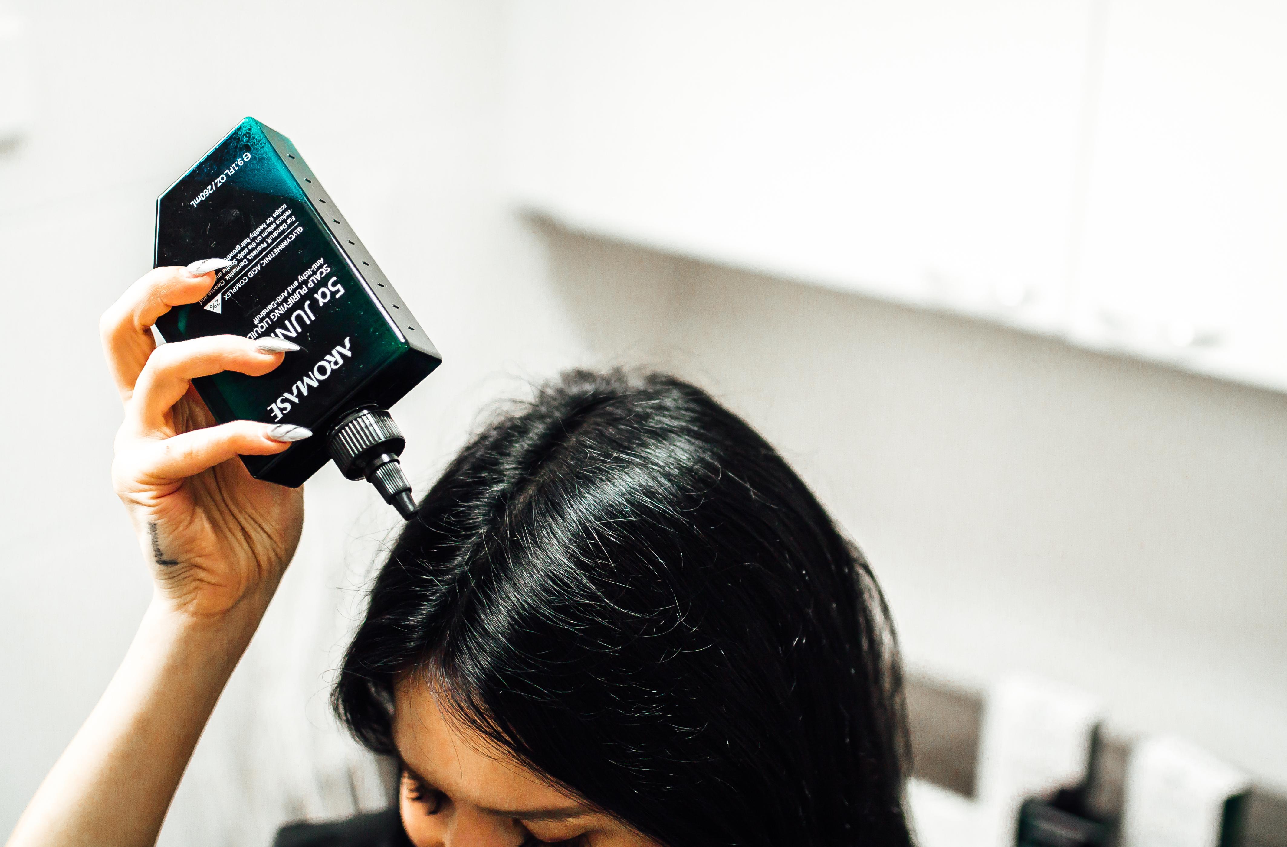 naisten hoitava shampoo