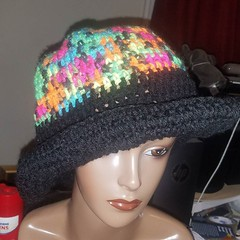 #90sfashion crochet hat $15. Dm or comment and claim. #hats #shopping #crochet #wordpress