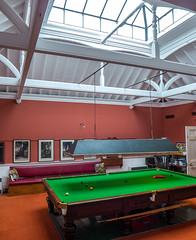 Norfolk Club billiard room