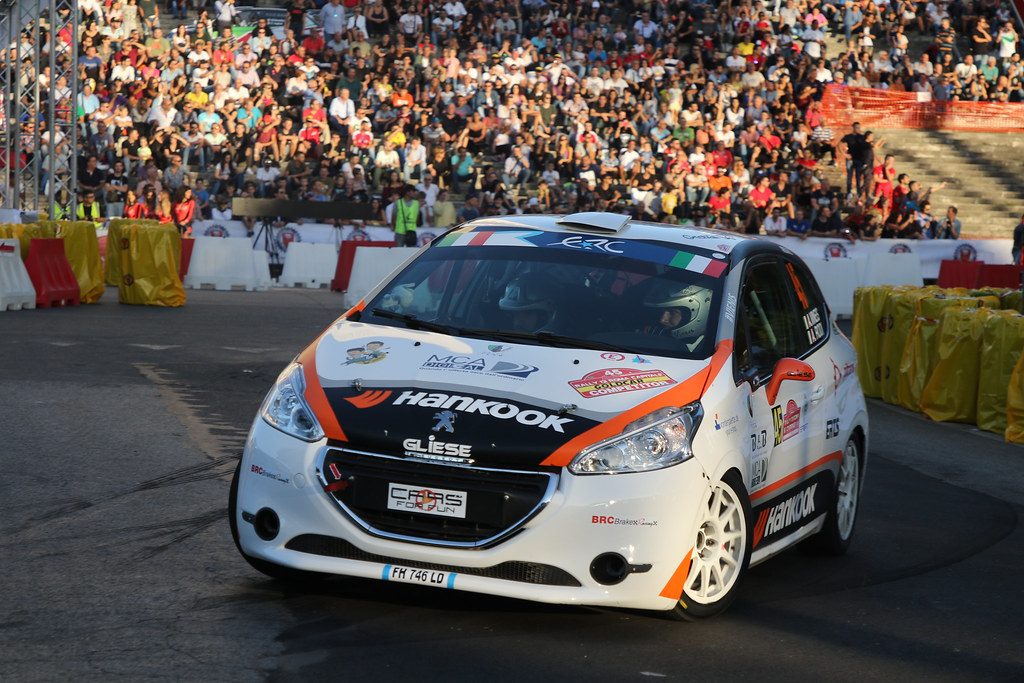 45 during the 2017 European Rally Championship ERC Rally di Roma Capitale,  from september 15 to 17 , at Fiuggi, Italia - Photo Jorge Cunha / DPPI