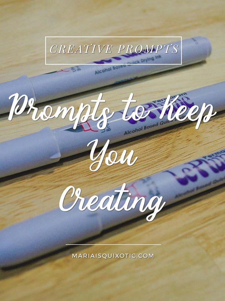 Creative Ideas to keep you creating