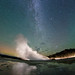 Small photo of Airglow, Aurora, Milky Way and Geyser