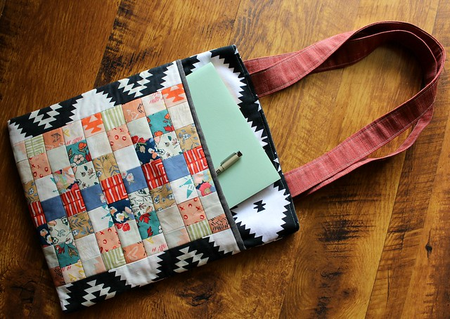 Quilted Patchwork Pocket