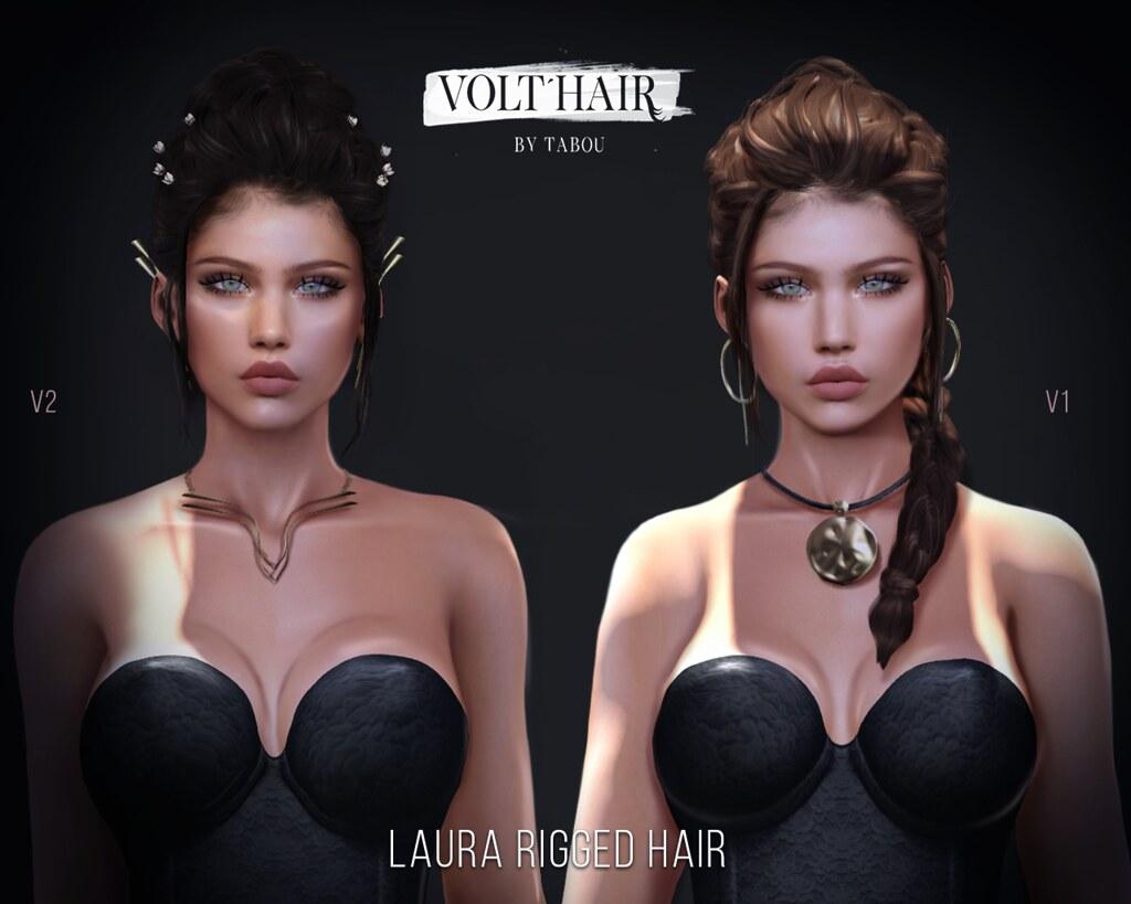 VoltHair- Laura Hair- Gacha - TeleportHub.com Live!
