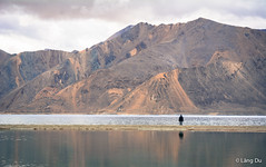 Pangong Lake in Ladakh, India