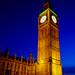 Big Ben in Evening Lighting