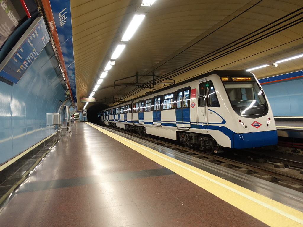Serie 3000 Metro De Madrid Linea 4 Lista Luis Hr Flickr
