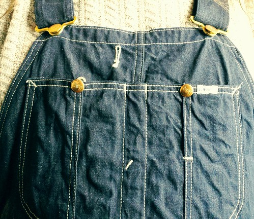 Raw Lee overalls
