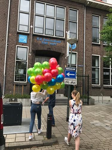 Heliumballonnen R.K. Basisschool Sint Jozef Schiedam