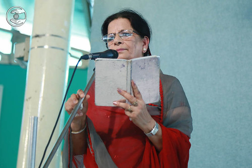 Devotional song by Geetkar Rani Khanna, Sant Nirankari Colony, Delhi