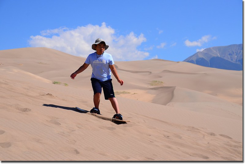 Sledding at Great Sand Dunes  (32)