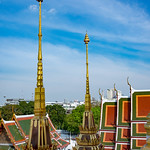 Image of Loha Prasat. bangkok lohaprasatmetalcastle temple templeoftheroyalniece thailand wat โลหะปราสาท krungthepmahanakhon th