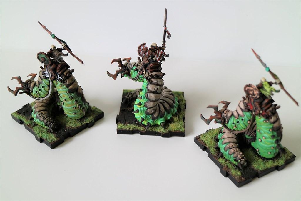 Runewars Miniatures Carrion Lancers