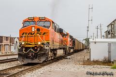 BNSF 6248 | GE ES44AC | BNSF Thayer South Subdivison